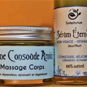 baume et serum cosmetique symphytum